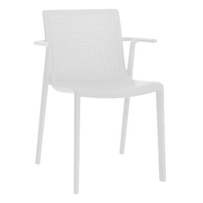 Beekat Armchair (Set of 2) Finish: White