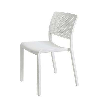 Trama Side Chair (Set of 2) Finish: White