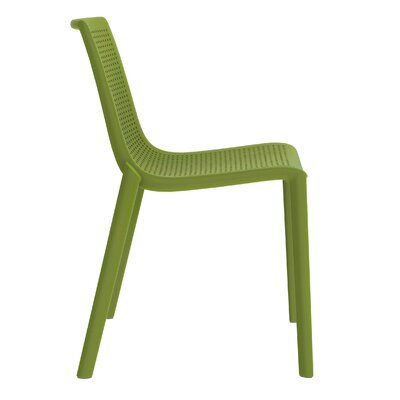 Beekat Side Chair (Set of 2) Finish: Olive Green