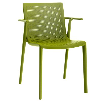 Beekat Armchair (Set of 2) Finish: Olive Green