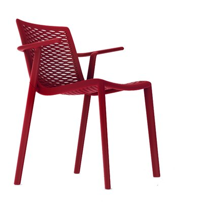 Netkat Armchair (Set of 2) Color: Red