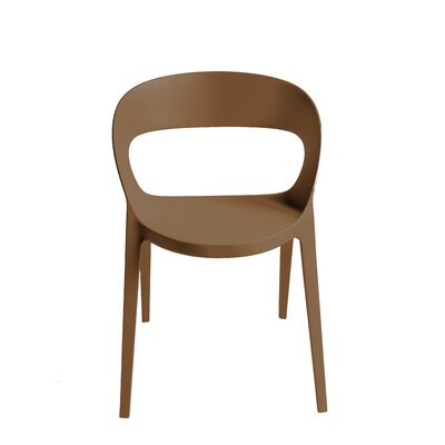 Adriell Barrel Chair (Set of 2) Finish: Warm Gray