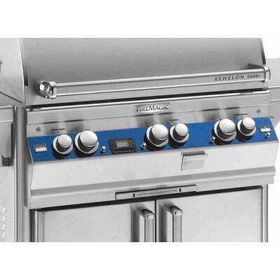 Color Panel Trim Piece for Echelon Gas Grills Trim Color: Cobalt Blue, Trim Piece Size (by Grill Model): Echelon E1060 Island Grill