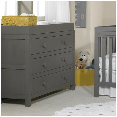 Castello 6 Drawer Double Dresser Color: Weathered Gray