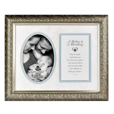 A Baby Picture Frame Color: Blue 7044