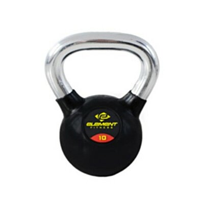 Commercial Chrome Handle Kettle Bell Weight: 40 lbs