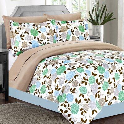 Gigi 8 Piece King Bed-In-A-Bag Set