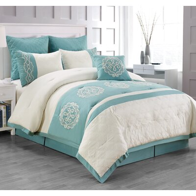 Hemming 7 Piece Comforter Set Size: Queen