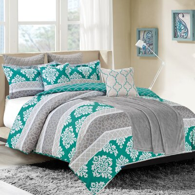 Riverside 8 Piece Comforter Set Size: King