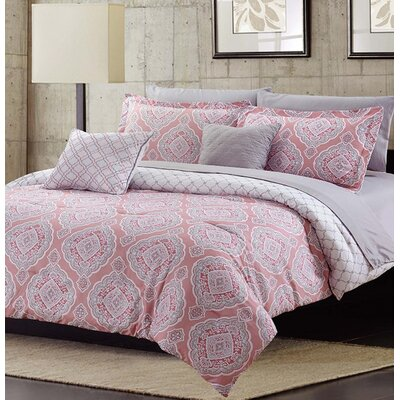Emmaline 9 Piece Reversible Bed-In-a-Bag Set