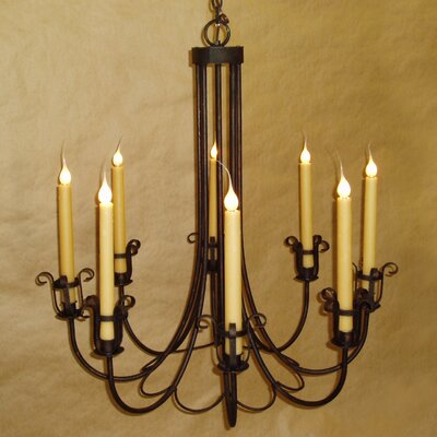 Varese 8-Light Candle-Style Chandelier
