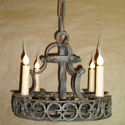 Cordoba 4-Light Candle-Style Chandelier