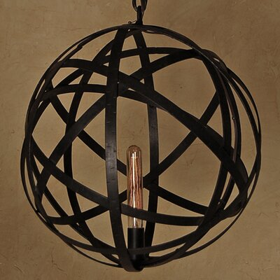 Mars 1-Light Mini Chandelier
