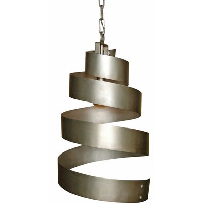 1-Light Pendant Finish: Salmon Rust