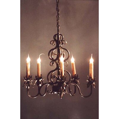Juliet 5-Light Candle-Style Chandelier