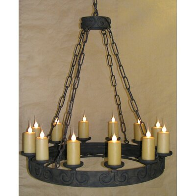 Adonis 12-Light Candle-Style Chandelier