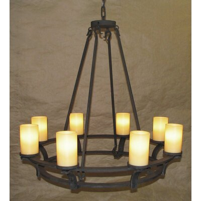 Roxberry 8-Light Candle-Style Chandelier