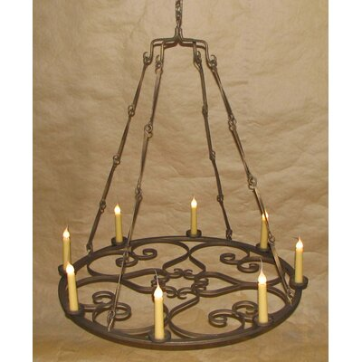 Valentine 8-Light Candle-Style Chandelier