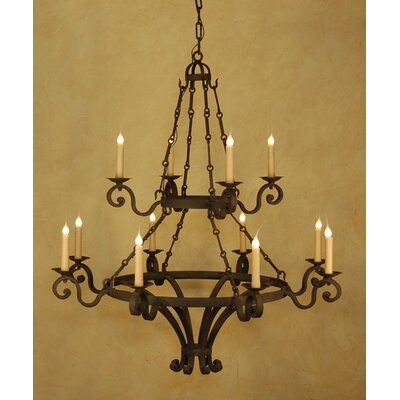 Dolce 12-Light Candle-Style Chandelier