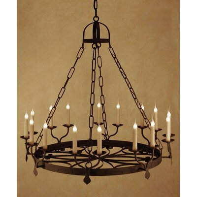 Ellington 16-Light Candle-Style Chandelier