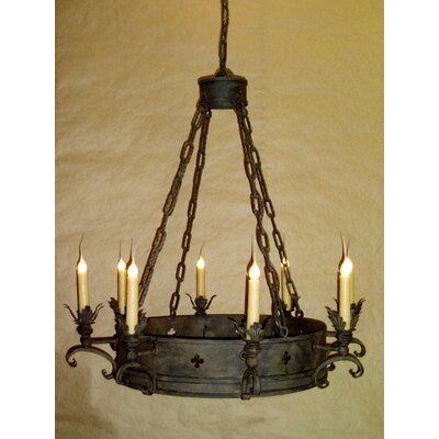 Medici 8-Light Candle-Style Chandelier