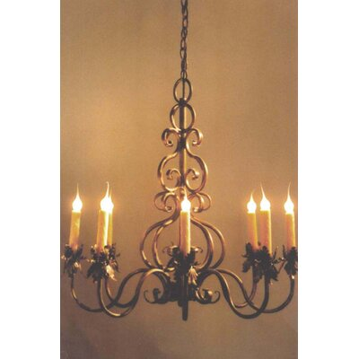 Juliet 8-Light Candle-Style Chandelier