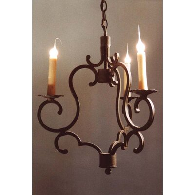 Marina 3-Light Candle-Style Chandelier