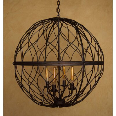 Sphere 4-Light Globe Pendant