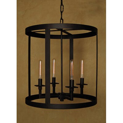 Terra 4-Light Foyer Pendant Size: 26 H x 24 W x 24 D