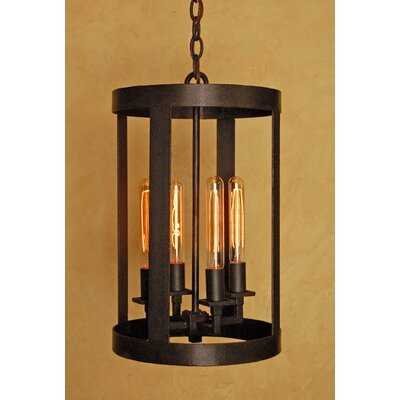 Terra 4-Light Foyer Pendant Size: 20 H x 12 W x 12 D