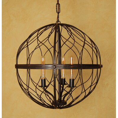 Sphere 3-Light Globe Pendant