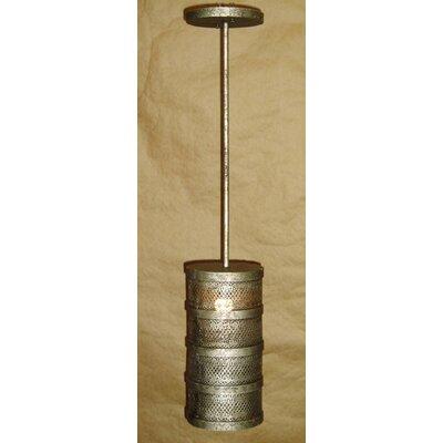 Cylinder 1-Light Drum Pendant