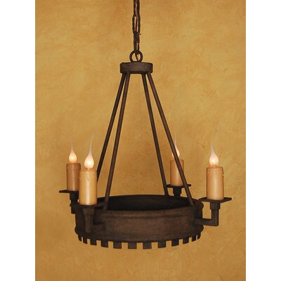 Harvard 4-Light Candle-Style Chandelier