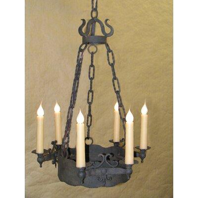 Nottingham 6-Light Candle-Style Chandelier