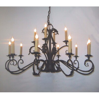 Windsor 14-Light Candle-Style Chandelier