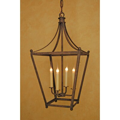 Montebello 4-Light Foyer Pendant