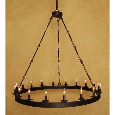 Toscana 18-Light Candle-Style Chandelier