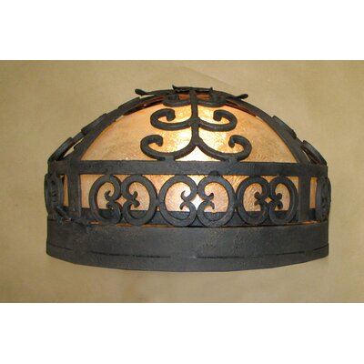Palm Ceiling Dome Flush Mount