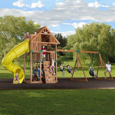 Backyard Odyssey Excursion Cedar All Cedar Swing Set at Sears.com