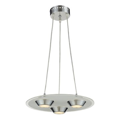 Brentford 3-Light Pendant