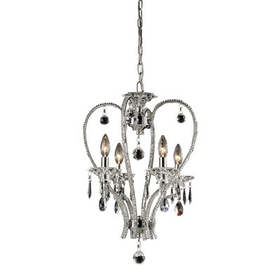 Longo 4-Light Foyer Pendant