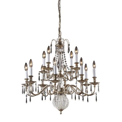 Hereford 12-Light Candle-Style Chandelier
