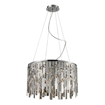 Fitzsimmons 9-Light Drum Pendant