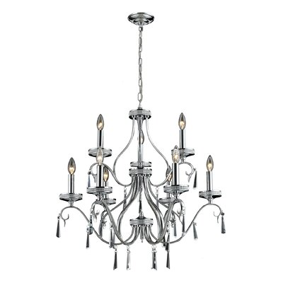 Lemond 9-Light Candle-Style Chandelier