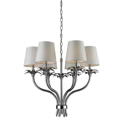Carlisle 6-Light Shaded Chandelier