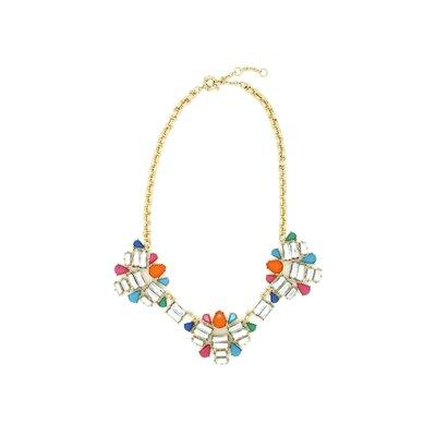 JordanandTaylor 3 Flower Aztec Bib Necklace at Sears.com