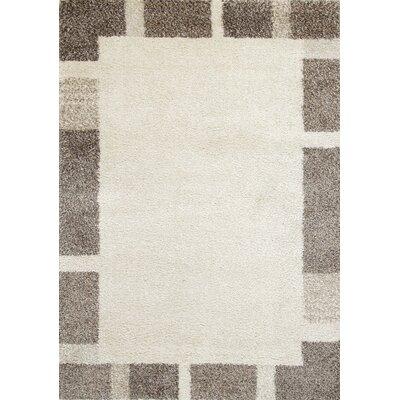 Lapeer Cream Border Area Rug Rug Size: 710 x 112