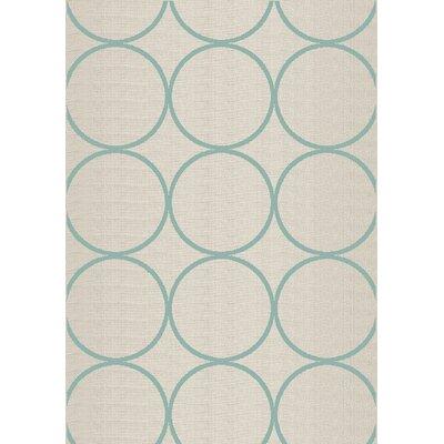 Flanigan Cream Hoops Area Rug Rug Size: 710 x 1010