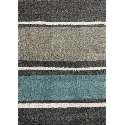 Lynnwood Lazy Stripes Area Rug Rug Size: 67 x 96