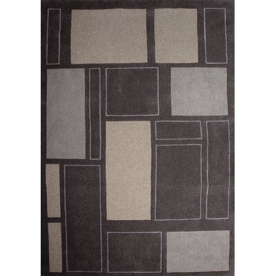 Gauna Brown Area Rug Rug Size: 710 x 1010